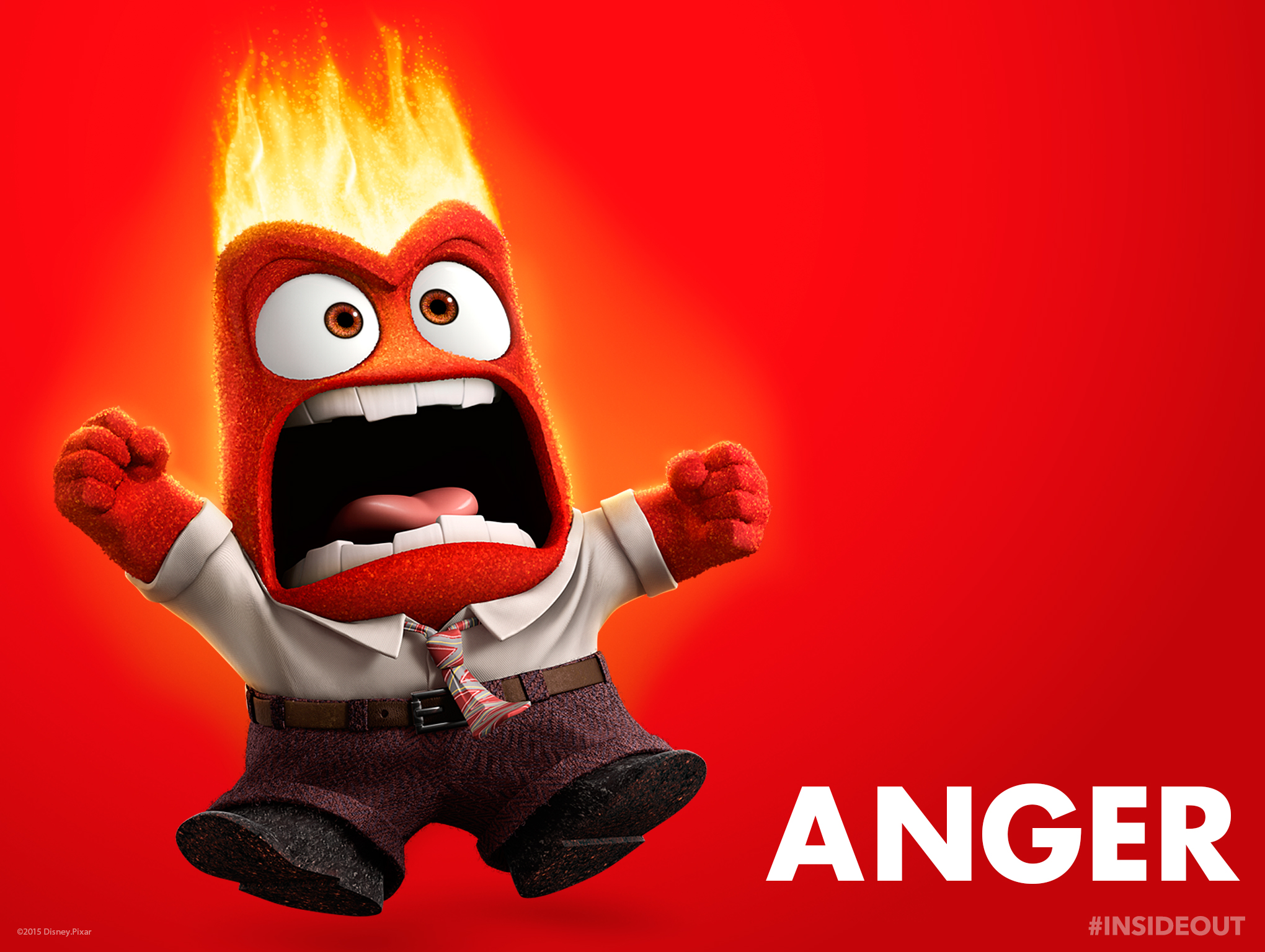 Seeing Red In Pixar's Inside Out?