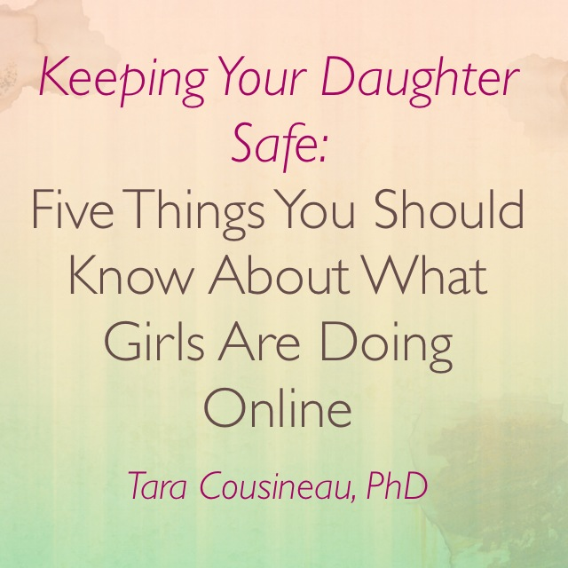 Keepin Your Daughter Safe- Teleclass with Tara Cousineau PhD - image