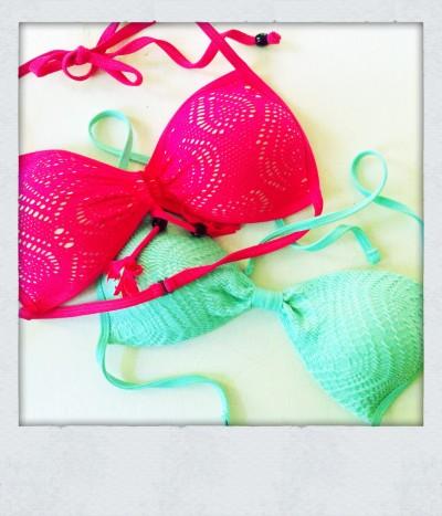 Teeny Bikini Tops © TCousineau
