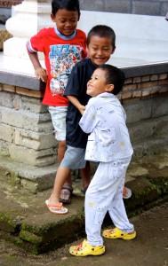 Balinese Boys Playing © TCousineau 2013
