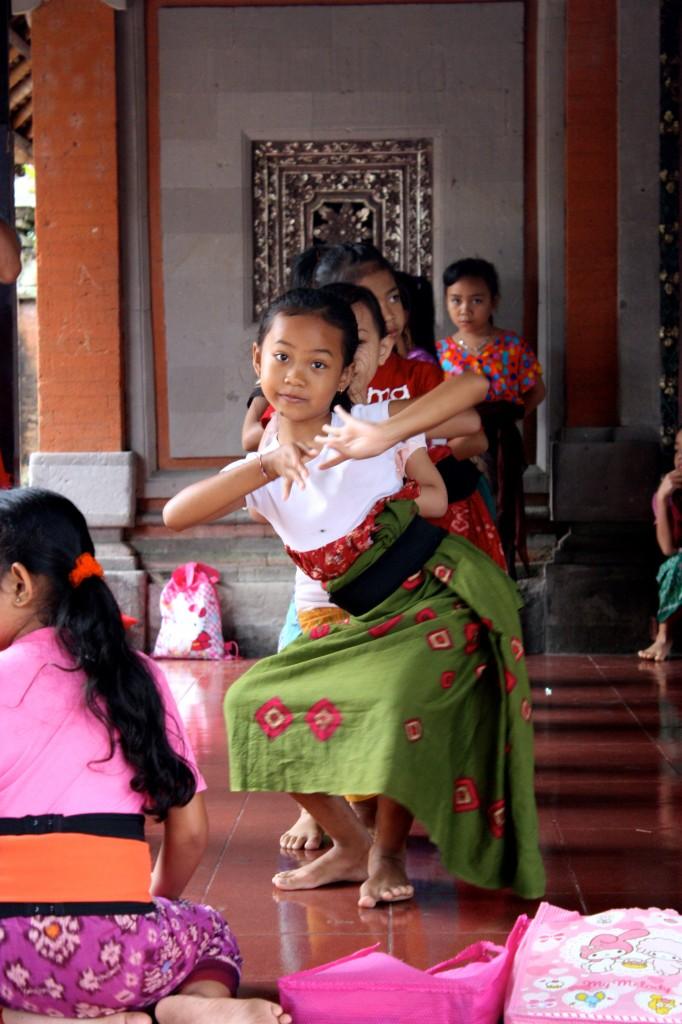 Little Balinese Dancer © TCousineau 2013