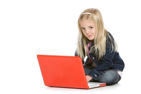 Small Girl with Laptop 123rf 8606285_s