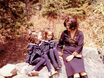 Mom, Girls and Banana Curls copy